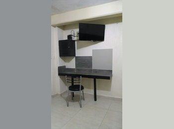 CompartoDepa MX - Habitación doble Amueblada con todos los servicios incluidos, Coatzacoalcos - MX$5,500 por mes