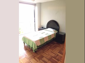 CompartoDepa MX - Recámara baño privado amueblado/sin para profesionista Condesa San Miguel, Cuauhtémoc - MX$6,000 por mes