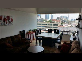 CompartoDepa MX - Rento cuarto en col. roma sur, DF - MX$7,000 por mes