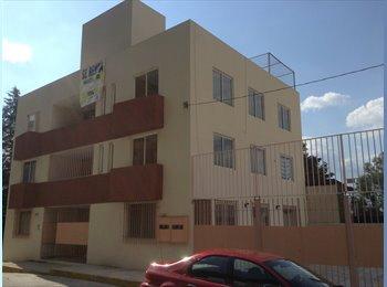 CompartoDepa MX - Amplio departamento a 3 cuadras de Camelinas amueblado y facturado, Morelia - MX$7,000 por mes