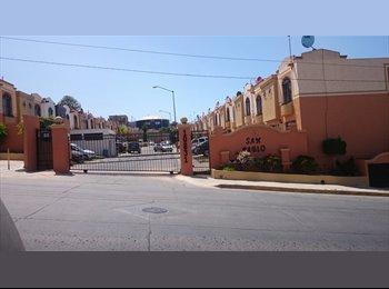 CompartoDepa MX - Se comparte casa es un ambiente tranquilo, únicamente mujer, Tijuana - MX$3,200 por mes