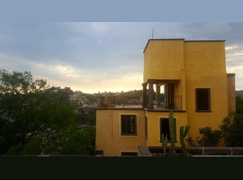 CompartoDepa MX - Departamento centrico con vista panorámica, Guanajuato - MX$6,000 por mes