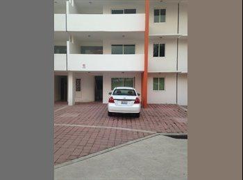 CompartoDepa MX - HERMOSO DEPTO  AMUEBLADO NUEVO, A 10 MIN DE CHOLULA, EN PLAZA SAN DIEGO, Cholula de Rivadabia - MX$9,600 por mes