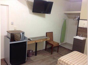 Habitacion amueblada con todos los servicios
