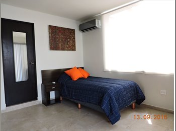 Habitacion VIP en Ave Cuauhtemoc Amueblada Baño privado