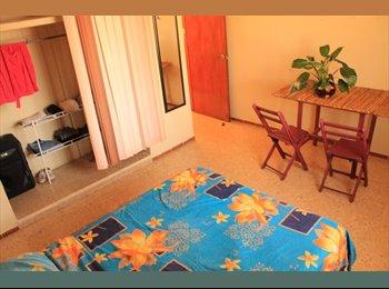 CompartoDepa MX - Habitación amueblada con todos los servicios , Mérida - MX$2,500 por mes