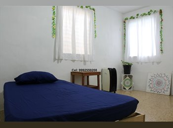 CompartoDepa MX - Comparto casa cerca de la Macroplaza, Mérida - MX$2,000 por mes