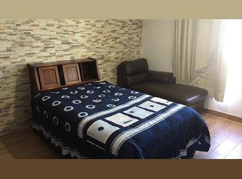CompartoDepa MX - Súper Económicas  Habitaciones en San Andrés Cholula , San Andrés Cholula - MX$1,500 por mes