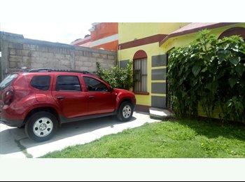 CompartoDepa MX - se renta cuarto, Pachuca de Soto - MX$1,300 por mes