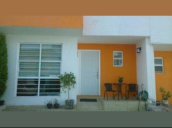 CompartoDepa MX - AMUEBLADO BAÑO PRIVADO Y ALBERCA EN FRACC., Santiago de Querétaro - MX$2,400 por mes