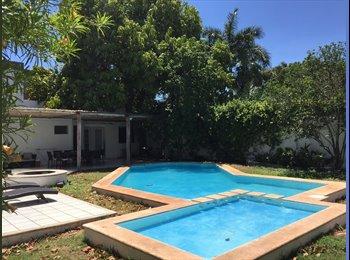 CompartoDepa MX - ¡¡¡ Casa La Pampa !!!, Merida - MX$3,600 por mes