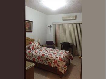 CompartoDepa MX - Departamento amueblado cerca Unison y Hospital, Hermosillo - MX$6,000 por mes