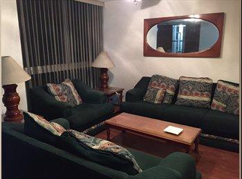CompartoDepa MX - Depa en excelente ubicación, amueblado, Cuauhtémoc - MX$6,500 por mes