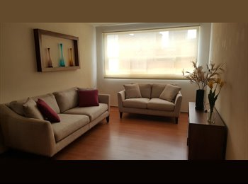 CompartoDepa MX - Habitación en bonito departamento, Cuauhtémoc - MX$5,700 por mes
