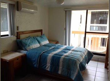 Rento habitaciones amuebladas tipo hotel con derecho de uso...