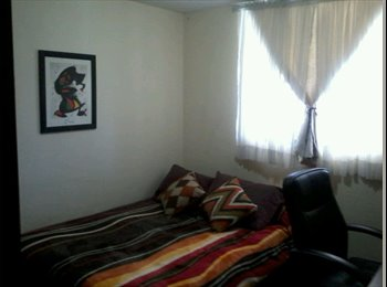 CompartoDepa MX - busco roommie para compartir gastos , habitaciones ejecutivas, Pachuca - MX$2,500 por mes