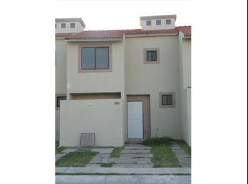 CompartoDepa MX - Se rentan habitaciones amuebladas y con casa amueblada, Aguascalientes - MX$2,600 por mes