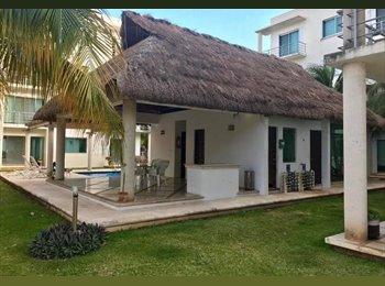 Se renta habitacion doble Centro de Cancun