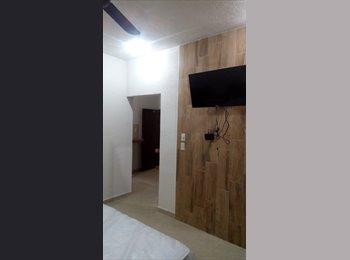 CompartoDepa MX - ESTUDIO CENTRICO EN RENTA, Cancún - MX$5,500 por mes