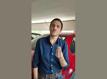 CompartoDepa MX - Carlos   - 24 - Monterrey
