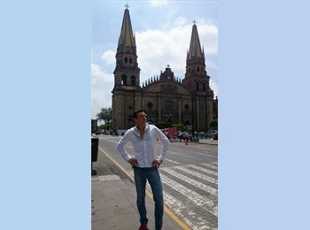 CompartoDepa MX - carlos - 28 - Querétaro