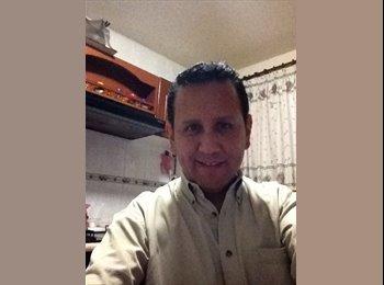 CompartoDepa MX - Juan  - 45 - Pachuca