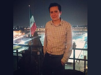 CompartoDepa MX - David - 29 - DF