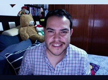 CompartoDepa MX - Gustavo - 24 - Puebla