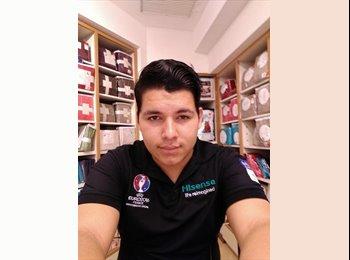 CompartoDepa MX - alex rdz - 20 - Aguascalientes