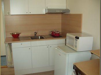 Kamer met keuken,badkamer en toilet