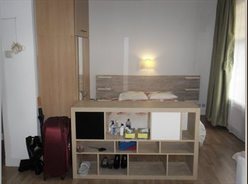 Mooie ruime kamer 28 m² (incl)