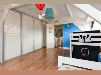 Gemeubelde ruime kamer te huur voor student