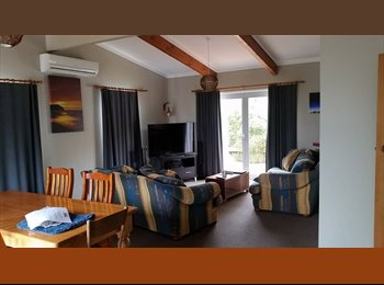 room in beach front flat