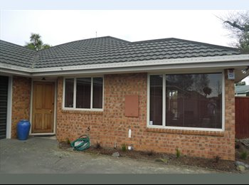 NZ - Redwood - Mature Professional Wanted - Redwood, Christchurch - $200 pw