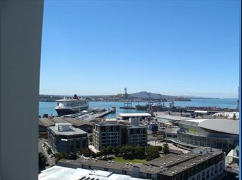 NZ - A FURNISHED ROOM WITH A SEAVIEW AND BALCONY - Auckland Central, Auckland - $300 pw