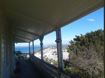 NZ - Bluff Hill - Flatmate wanted, awesome view :) - Napier-Hastings, Napier-Hastings - $130 pw