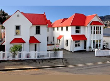 NZ - Fully furnished student accommodation with many room options - North East Valley, Dunedin - $325 pw