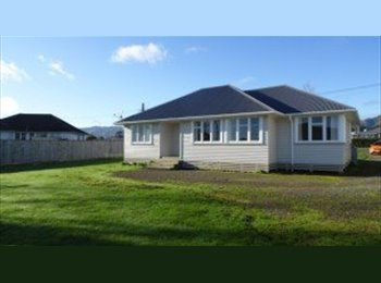 NZ - Bright room, new carpet & curtains - Palmerston North, Palmerston North - $100 pw