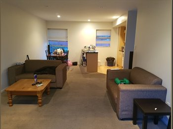 NZ - Looking for a flatmate for my fully furnished apartment in city center  - Edgeware, Christchurch - $200 pw
