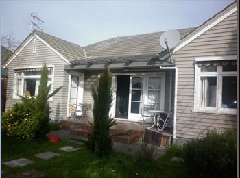 NZ - Lovely sunny house close to uni  - Ilam, Christchurch - $150 pw
