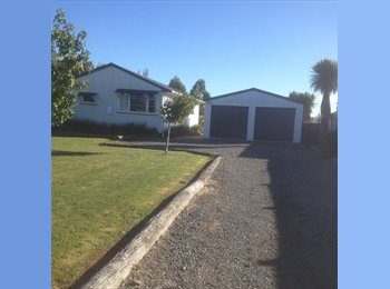 NZ - Room available for Rent in quiet rural township - Palmerston North, Palmerston North - $290 pw