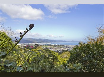 NZ - Views, peace and quiet are all here, Wellington - $250 pw