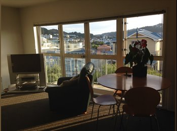 NZ - 1 sunny double room available asap - Mt Victoria, Wellington - $240 pw