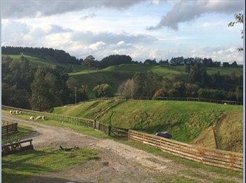 NZ - Peaceful Country living - Ngongotaha Valley, Rotorua - $150 pw
