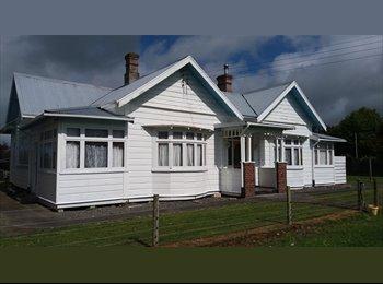 NZ - Mature flatmate/s for Large House, Wanganui - $75 pw