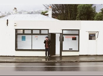 NZ - 2 rooms - home for creatives and entrepreneurs!, Dunedin - $65 pw