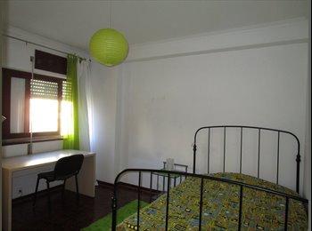 EasyQuarto PT - Quarto disponivel em apartamento na solum por trás da ESEC - 190 €, Coimbra - 190 € Por mês