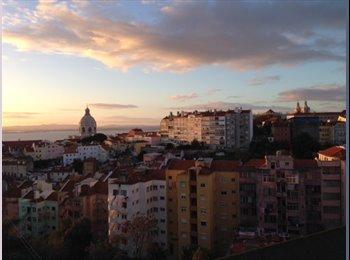 Sweet Graça flat with Tejo view