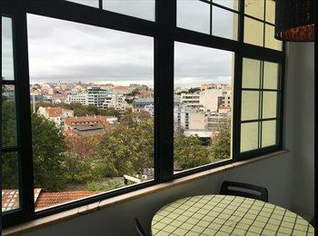 EasyQuarto PT - Quarto na R. Alegria (Av. Liberdade/Príncipe Real), Lisboa - 380 € Por mês