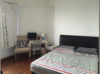 Spacious Master Bedroom at Simsville condo, Payalebar MRT